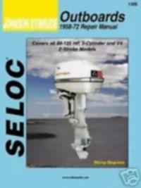 SELOC - جانسن / ايوينيوڊ 1958-72 سروس مرمت جو دڪان دستياب 50-125 ايڇ # 1306