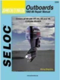 SELOC - جانسن ايوينروڊ 1992-1996 4-6-8 سلنڈر جي مرمت واري سروس دستي # 1310