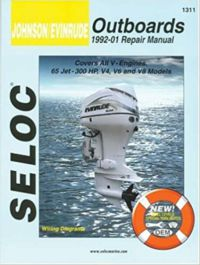 SELOC - جانسن / ايوينيوڊ بورڊ ، سڀئي وي انجڻ ، 1992-01 1st ايڊيشن # 1311