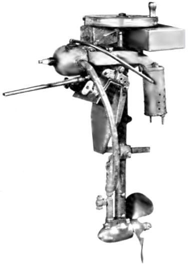 1909 Evinrude Outboard Նախատիպը