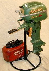 1949-1963 Johnson 10 HP QD Serie Tune-Up