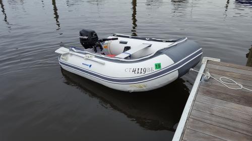 la mia barca di prova