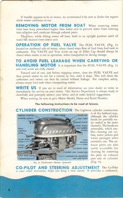 Evinrude repair user manualss user manuals array 1952 1954 evinrude 3 hp owners manual outboard boat motor repair rh outboard boat fandeluxe Image collections