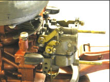 Johnson soavalin-dranomasina 5.5 Throttle Linkage