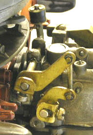 Johnson Seahorse 5.5 Kendu Throttle Linkage