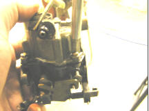 Johnson Seahorse 5.5 Carburetor Body Vidalar Sil