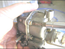 Join Top and Bottom Half of Carburetor Body