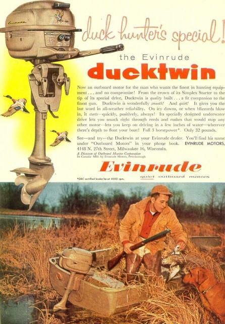 Evinrude Ducktwin