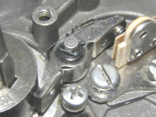 Ignition Breaker Point Cam Top Placement