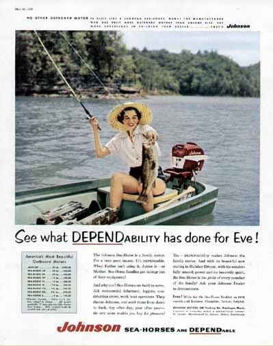 1954-1964 Evinrude Johnson 5 5 HP - History | Outboard Boat