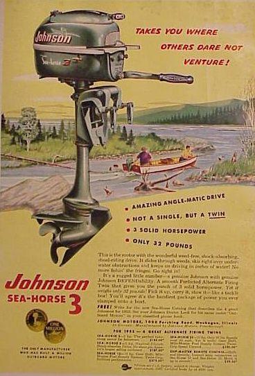 Johnson Seahorse 3 iragarkia
