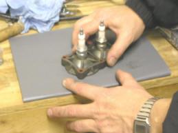 Lightwin Slīpēšanas cilindra galvas Flat