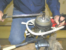 Lightwin Tighten Flywheel Nut With Torque Wrench
