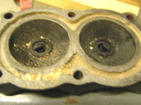 Lightwin Cylinder Head Clogged