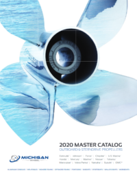Michigan Wheel 2020 Propeller Master Catalogue