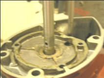 Clean Up Impeller Base