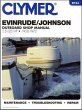 Clymer - Evinrude Johnson vanbrodski priručnik, 1.5 do 125 KS 1956-1972 B734