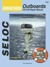 SELOC - Johnson / Evinrude Outboards 1973-89 Repair Manual # 1302