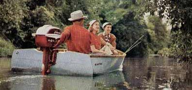 Ҷонсон 1957 Seahorse Од 2